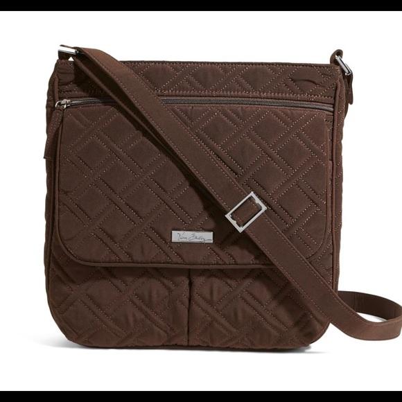 Vera Bradley Bags   Nwot Double Zip Mailbag Crossbody   Poshmark e3597658f3